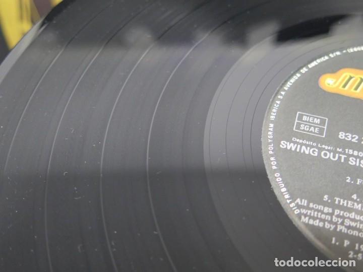 Discos de vinilo: SWING OUT SISTER - IT´S BETTER TO TRAVEL (LP-Vinilo) AÑO -1987 - COMO NUEVO,CALIDAD - Foto 28 - 178219338