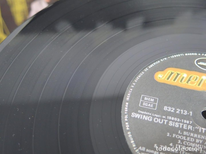 Discos de vinilo: SWING OUT SISTER - IT´S BETTER TO TRAVEL (LP-Vinilo) AÑO -1987 - COMO NUEVO,CALIDAD - Foto 29 - 178219338