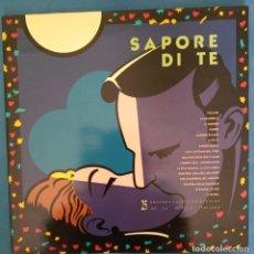 Discos de vinilo: DOBLE LP,SAPORE DI TE, 25 GRANDES EXITOS DE LA MUSICA ITALIANA. Lote 178219625
