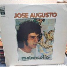 Discos de vinilo: LP-JOSE AUGUSTO-MELANCOLIA EN FUNDA ORIGINAL AÑO 1975. Lote 178222568