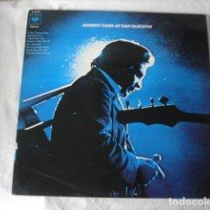 Discos de vinilo: JOHNNY CASH JOHNNY CASH AT SAN QUENTIN . Lote 178224098