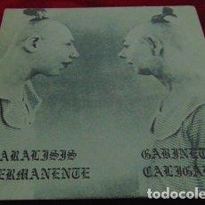 Discos de vinilo: PARALISIS PERMANENTE / GABINETE CALIGARI - EP TRES CIPRESES 1982. Lote 178227582