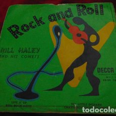 Disques de vinyle: BILL HALEY AND HIS COMETS - LIVE IT UP + 3 - EP 1956. Lote 178227980