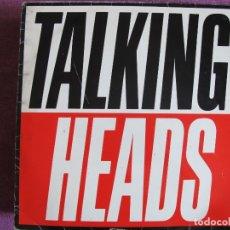 Discos de vinilo: LP - TALKING HEADS - TRUE STORIES (SPAIN, EMI RECORDS 1986). Lote 178228633