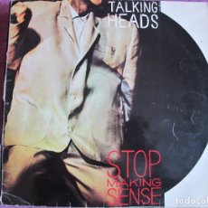 Discos de vinilo: LP - TALKING HEADS - STOP MAKING SENSE (SPAIN, EMI RECORDS 1984). Lote 178229146