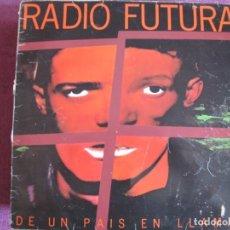 Discos de vinilo: LP - RADIO FUTURA - DE UN PAIS EN LLAMAS (SPAIN, ARIOLA 1985). Lote 178231607