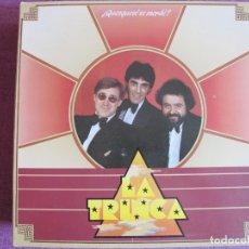 Discos de vinilo: LP - LA TRINCA - QUESQUESE SE MERDE (SPAIN, ARIOLA 1983, PORTADA DOBLE). Lote 178231715