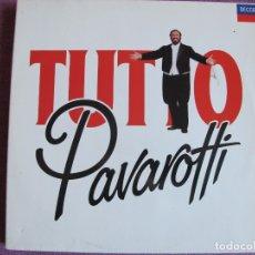 Discos de vinilo: LP - PAVAROTTI - TUTTO PAVAROTTI (DOBLE DISCO, SPAIN, DECCA RECORDS 1989). Lote 178233778