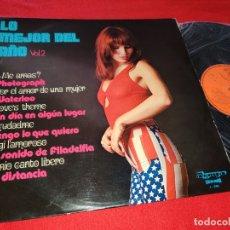 Discos de vinilo: LA BRIGADA LO MEJOR DEL AÑO VOL.II LP 1974 OLYMPO SPAIN ESPAÑA SEXY NUDE COVER. Lote 178237803