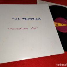Discos de vinilo: THE TEMPTATIONS TEMPTATIONS LIVE LP 1967 GORDY USA. Lote 178241837
