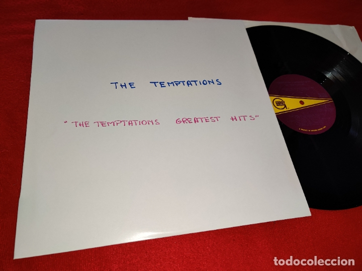 THE TEMPTATIONS TEMPTATIONS GREATEST HITS LP 1966 GORDY USA (Música - Discos - LP Vinilo - Funk, Soul y Black Music)