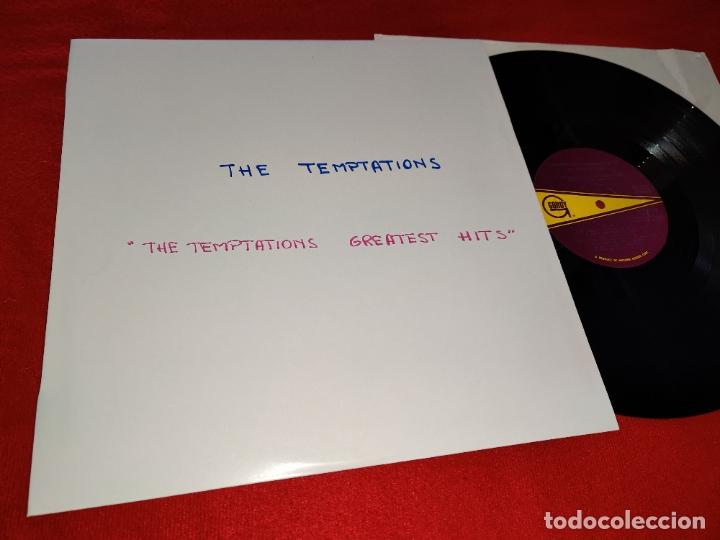 THE TEMPTATIONS TEMPTATIONS GREATEST HITS LP 1966 GORDY USA (Música - Discos - LP Vinilo - Funk, Soul y Black Music)