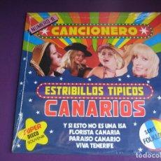 Discos de vinilo: ESTRIBILLOS TIPICOS CANARIOS LP ARIES 1979 PRECINTADO - CANARIAS CARNAVAL - . Lote 178254768