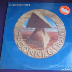 Discos de vinilo: T-CONNECTION LP CAPITOL PRECINTADO 1981 - EVERYTHING IS COOL - DISCO FUNK 80'S . Lote 178255122
