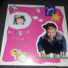 Discos de vinilo: JORDY --- ALISON. Lote 178257553