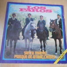 Discos de vinilo: FAROS, LOS, SG, SANTA MARTA + 1, AÑO 1969. Lote 178262763