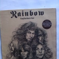 Discos de vinilo: RAINBOW LONG LIVE ROCK´N´ROLL. Lote 178265805