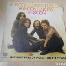 Discos de vinilo: FUSIOON, SG, TOCATA Y FUGA + 1, AÑO 1973. Lote 178266986