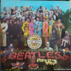 Discos de vinilo: THE BEATLES - SERGEANT PEPPER'S LONELY - ODEON 1967 - J 062-04.177. Lote 178268650