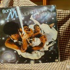 Discos de vinilo: BONEY M. – NIGHT FLIGHT TO VENUS, ARIOLA - 26 026, 1978, TEMAS EN DESCRIPCION. Lote 178273071
