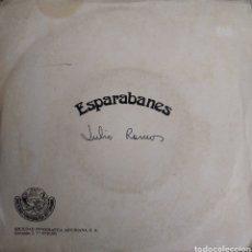 Discos de vinilo: JULIO RAMOS - A UNA XANINA / ANUECHI NUN SUANNU - ESPARABANES - SINGLE PROMOCIONAL S.F.A. 1980. Lote 178273483