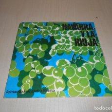 Discos de vinilo: SONORA NAVARRA Y LA RIOJA 2 DISCOS 45 RPM Y LIBRETO EDUCATIVO -AÑO 1966. Lote 178275383