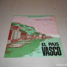 Discos de vinilo: SONORA EL PAIS VASCO - REGIONAL DE ESPAÑA -2 DISCOS 45 RPM Y LIBRETO EDUCATIVO- AÑO 1966. Lote 178275958