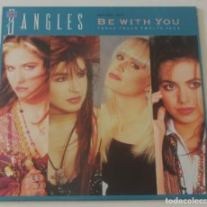 Discos de vinilo: BANGLES - BE WITH YOU + 2 - CBS SPAIN 1988. Lote 178280288