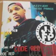 Discos de vinilo: JAZZY JEFF & THE FRESH PRINCE CODE RED LP SPAIN. Lote 178283276