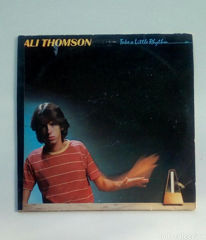 ALI THOMSON - TAKE A LITTLE RHYTHM, A&M RECORDS, 1980. HOLLAND. (Música - Discos - LP Vinilo - Rock & Roll)