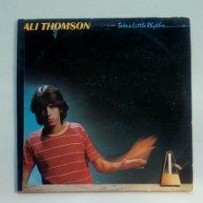 Discos de vinilo: ALI THOMSON - TAKE A LITTLE RHYTHM, A&M RECORDS, 1980. HOLLAND.. Lote 178285337