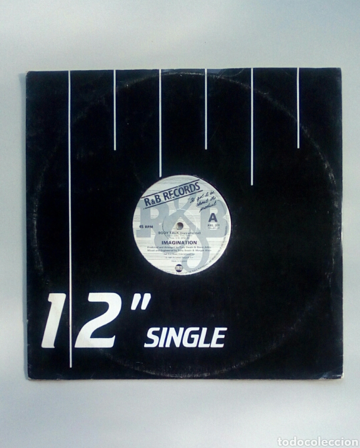Discos de vinilo: Imagination - Body talk, Excaliber Records, 1981. England. - Foto 2 - 178286275