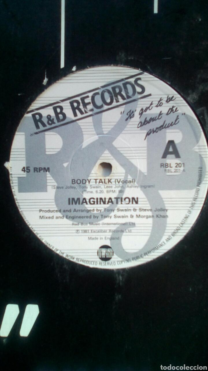 Discos de vinilo: Imagination - Body talk, Excaliber Records, 1981. England. - Foto 3 - 178286275