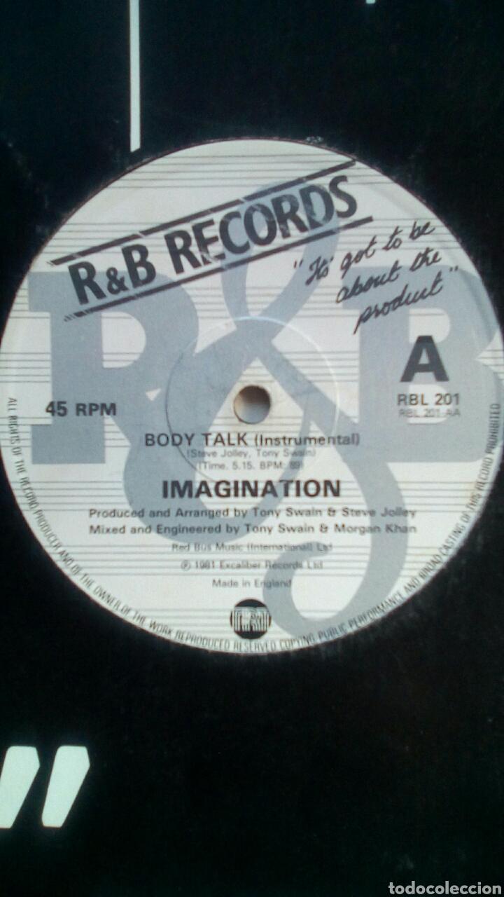Discos de vinilo: Imagination - Body talk, Excaliber Records, 1981. England. - Foto 4 - 178286275