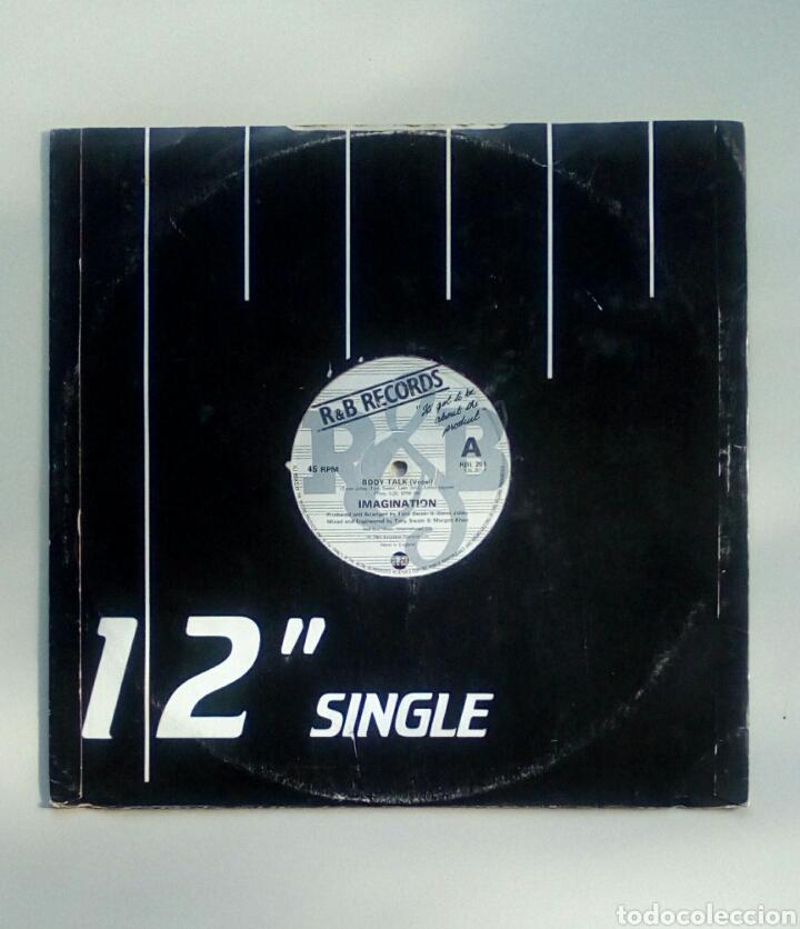 IMAGINATION - BODY TALK, EXCALIBER RECORDS, 1981. ENGLAND. (Música - Discos de Vinilo - Maxi Singles - Funk, Soul y Black Music)