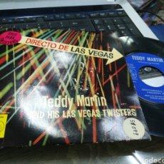 Discos de vinilo: TEDDY MARTIN EP CHATTANOOGA TWIST + 3 ESPAÑA 1962. Lote 178289193