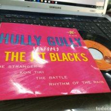Discos de vinilo: THE JET BLACK'S EP HULLY GULLY + 3 ESPAÑA 1964. Lote 178291115