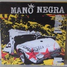 Discos de vinilo: MANO NEGRA - KING OF BONGO VIRGIN - 1991 GAT. Lote 178293978