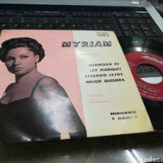 Discos de vinilo: MYRIAM EP HERMOSO ES + 3 1963. Lote 178294387