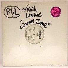 Discos de vinilo: PUBLIC IMAGE LIMITED - COMMERCIAL ZONE. Lote 178294537