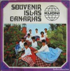 Discos de vinilo: AGRUPACIÓN FOLKLÓRICA PUEBLO CANARIO: SOUVENIR ISLAS CANARIAS: POBRE RAFAEL / LOS COSTEROS + 2. Lote 178295340