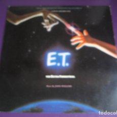 Discos de vinilo: JOHN WILLIAMS LP MCA 1982 - E.T. EL EXTRATERRESTRE - BSO CINE - POCO USO. Lote 178296341