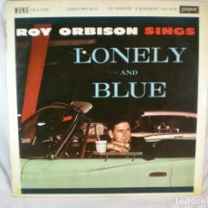 Discos de vinilo: ROY ORBISON - LONELY & BLUE - 1961 - LONDON RECORDS HA-U 2342 - UK. Lote 178296948