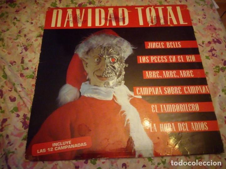 NAVIDAD TOTAL LP. MADE IN SPAIN. MAX MUSIC,INCLUYE LAS 12 CAMPANADAS. (Música - Discos - LP Vinilo - Disco y Dance)