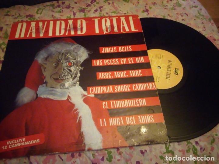 Discos de vinilo: NAVIDAD TOTAL lp. made in spain. max music,incluye las 12 campanadas. - Foto 2 - 178319725
