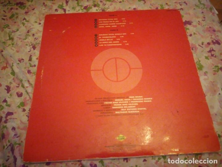 Discos de vinilo: NAVIDAD TOTAL lp. made in spain. max music,incluye las 12 campanadas. - Foto 3 - 178319725