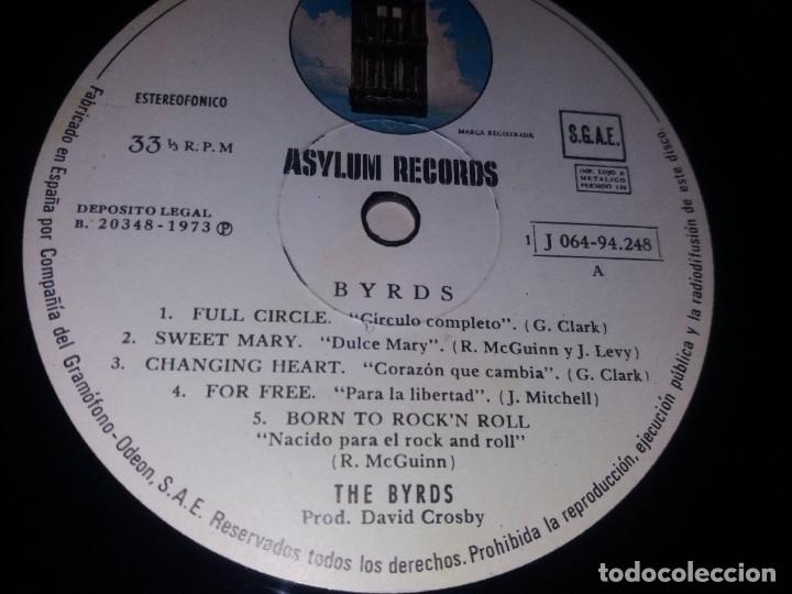 Discos de vinilo: THE BYRDS --- BYRDS // COMO NUEVO // GATEFOLD - Foto 4 - 178321497