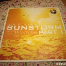 Discos de vinilo: HURLEY & TODDM SUNSTORM PART 1 - MAXI 3 TEMAS. Lote 178322013