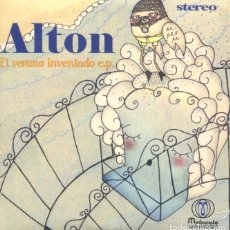 Discos de vinilo: ALTON / EL VERANO INVENTADO / TODO LO MEJOR / FUI TAN FELIZ / SOL DE INVIERNO (EP 2011 PRECINTADO). Lote 178322237
