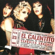 Discos de vinil: EL CALENTITO / LAS SIUX / BAILAMOS FATAL (2 VERSIONES) - DERRIBOS ARIAS / BRANQUIAS BAJO EL AGUA (EP. Lote 178323546